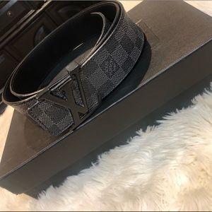 Louis Vuitton monogram men's belt